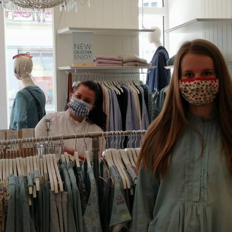 Masken bei Noa Noa Hannover